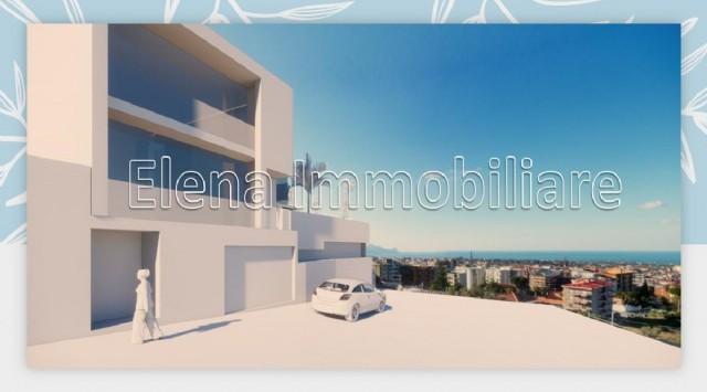 AV331 Luminoso appartamento con ascensore e garage, Alcamo